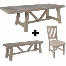 large trestle dining table wood dining set reclaimed extendable trestle table modish living