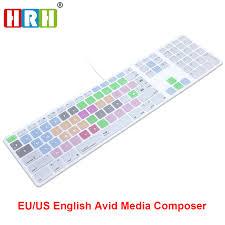raccourci clavier bureau sar avid media composer raccourci clavier couverture de peau pour
