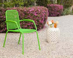 Stackable Mesh Patio Chairs by Royal Garden Milo Metal Mesh Stacking Arm Chair Green 4 Pack