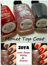 thepolishhoochie zoya monet top coat swatches