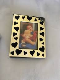 Burnes Photo Albums Burnes Of Boston Black Wood 5 Piece Photo Frame Set 5x7 4x6 3 5