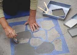 Painting Concrete Patio Slab Best 25 Painted Concrete Patios Ideas On Pinterest Stain
