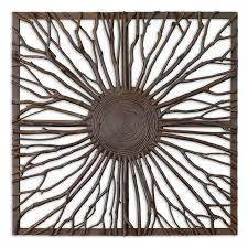 square wood wall decor uttermost josiah square wood wall hayneedle