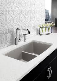 blanco metallic gray sink press release blanco introduces the 1 3 4 performa silgranit ii