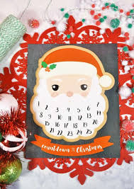 christmas countdown calendar top 10 diy printable advent calendar ideas for christmas countdown