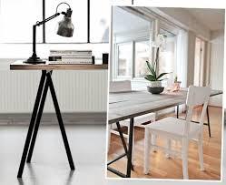 Diy Een Ikea Tafel Of Bureau Aangepast Met Houten Bladen Simpel Bureau Diy