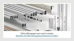 benefits cable management system ppt download