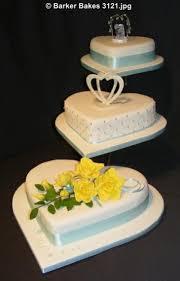 Heart Wedding Cake Heart Wedding Cakes U2013 Barker Bakes Ltd