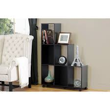 Rolling Room Divider Free Standing Storage And Display Shelves Organize It