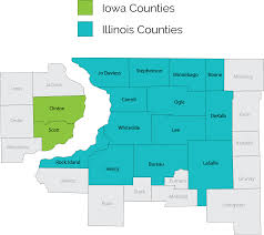 Counties In Illinois Map by Welcome To Arc Appraisals