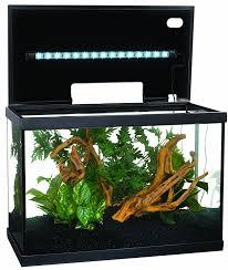 amazon com marina led aquarium kit 10 gallon pet supplies