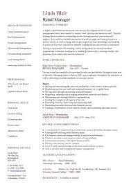 retail resume template retail resume templates resume sle