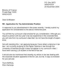 bunch ideas of how to write a job application letter in nigeria