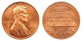 penny s 1969 s lincoln memorial cent copper alloy penny value and prices