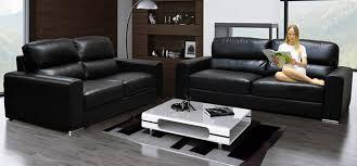 leather livingroom set leather sofas 3 2 seater savae org