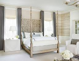 traditional home interior design neutral bedroom with airy metallics interiors by color