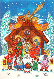 20 best the art prints christmas paintings giclee holiday nativity