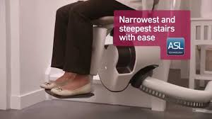 the thyssenkrupp flow 2 stairlift from aussieglide youtube
