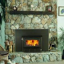 Outdoor Fireplace Insert - escape 1400 wood burning fireplace insert w blower included db03120