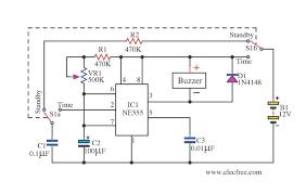monostable multivibrator using 555 timer