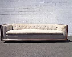 Tufted Vintage Sofa Vintage Sofa Etsy