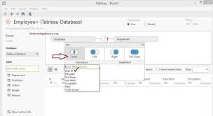 Joining Tables In Sql How To Join Data In Tableau With Example