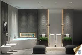 Masculine Bathroom Decor Luxury Bathroom Decor Which Combine With Trendy And Modern Design