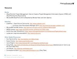 How To Create A Federal Resume Lessons Learned From Using Sharepoint For Program Management Plannin U2026