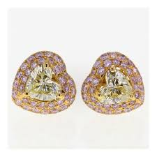 heart shaped diamond earrings products archive rionore jewellery