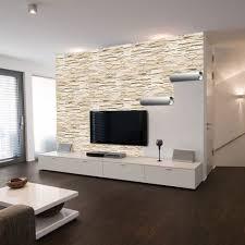 Moderne Wohnzimmer Fliesen Wohnzimmer Steinwand Grau Gemtlich On Moderne Deko Idee Mit