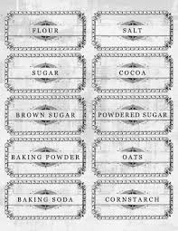 labels for kitchen canisters 10 free printable pantry labels to whip your kitchen into shape