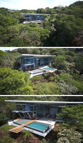 flat roof modern house this modern house in costa rica sits under a dramatic large angled