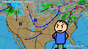 Weather Map Ohio by Types Of Weather Maps U0026 Images Video U0026 Lesson Transcript Study Com
