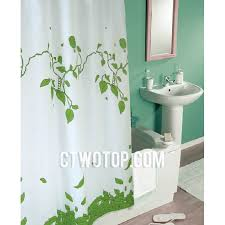Novelty Shower Curtains Appealing Green Shower Curtains And Children Cartoon Sweet Poly