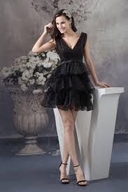 duchesse linie v ausschnitt knielang tull brautjungfernkleid mit scharpe band p656 brautjungferkleider günstig shop gillne de