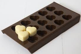 heart chocolates heart chocolates choc hearts custom candy mould white chocolate