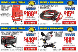 black friday harbor freight harbor freight tools friends u0026 family sale plus save 25 off one