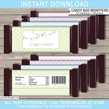 easter hershey candy bar wrappers personalized candy bars