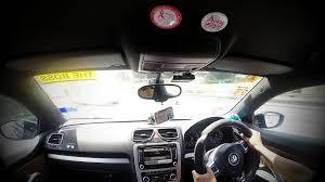 yellow volkswagen karak highway vw scirocco teaser gopro hero3 youtube