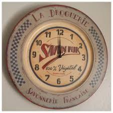 horloges cuisine horloge de cuisine rétro chic comptoir de famille signs of the
