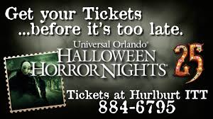halloween horror nights ticket halloween horror nights quotes yours truly hollywood gothique