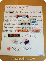 A Letter To Teacher Thanking You Happy Teacher Appreciation Week Coffee Cups And Crayons