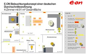 Beleuchtungskonzept Schlafzimmer Beleuchtungskonzept Von Prediger Und E On U2013 Profitipps Für Zuhause