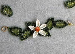 flower beaded bracelet images Margarita 39 s beads adventures in beading jpg