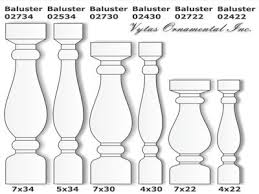 Types Of Banisters Concrete Balusters At Affordable Price