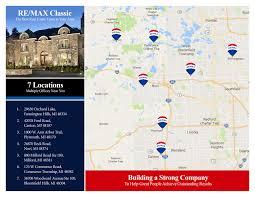 Novi Michigan Map by Southeastern Michigan Real Estate Re Max Classic Serving Your