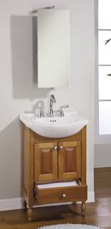22 inch single sink narrow depth furniture bathroom vanity with
