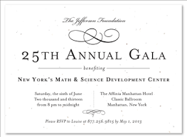 formal invitation formal gala invitations on seeded paper vip by green