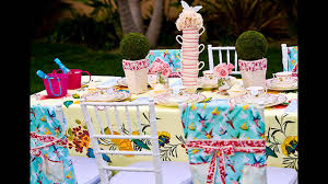 How To Make Birthday Decorations At Home Garden Tea Party Decorations At Home Ideas Youtube