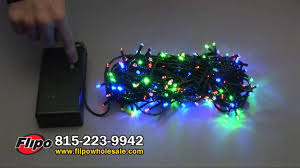led battery operated string lights w timers